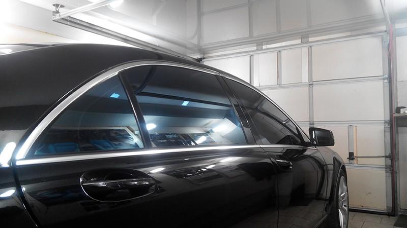 Тонировка Mercedes-Benz S500