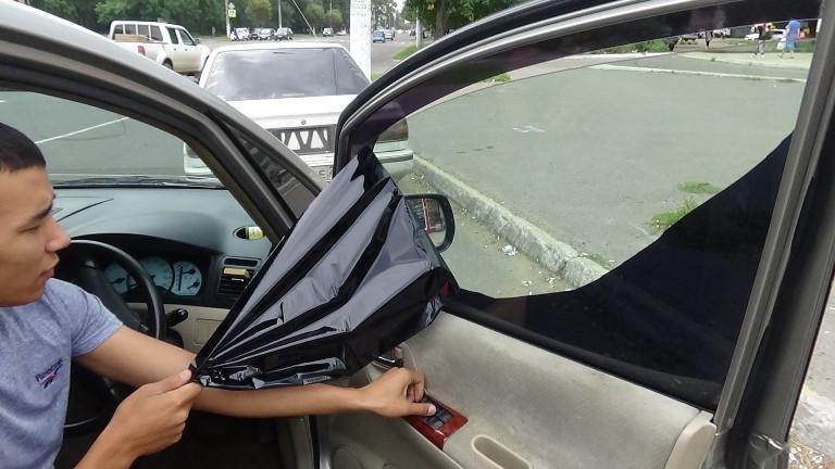 Как снять зеркальную тонировку