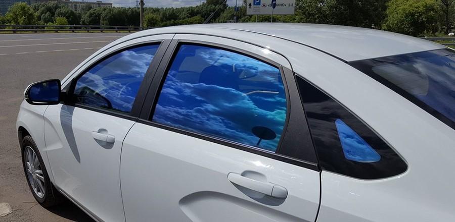 Разрешена ли зеркальная тонировка задних стекол?