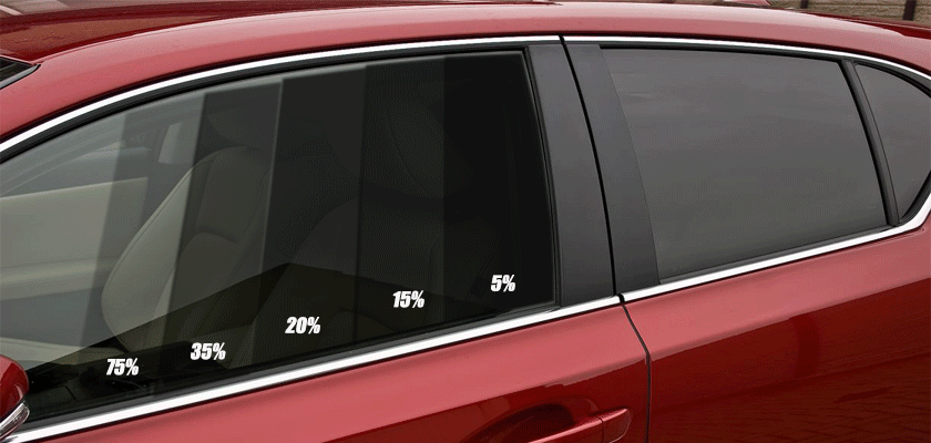 Виды тонировки стекол автомобиля