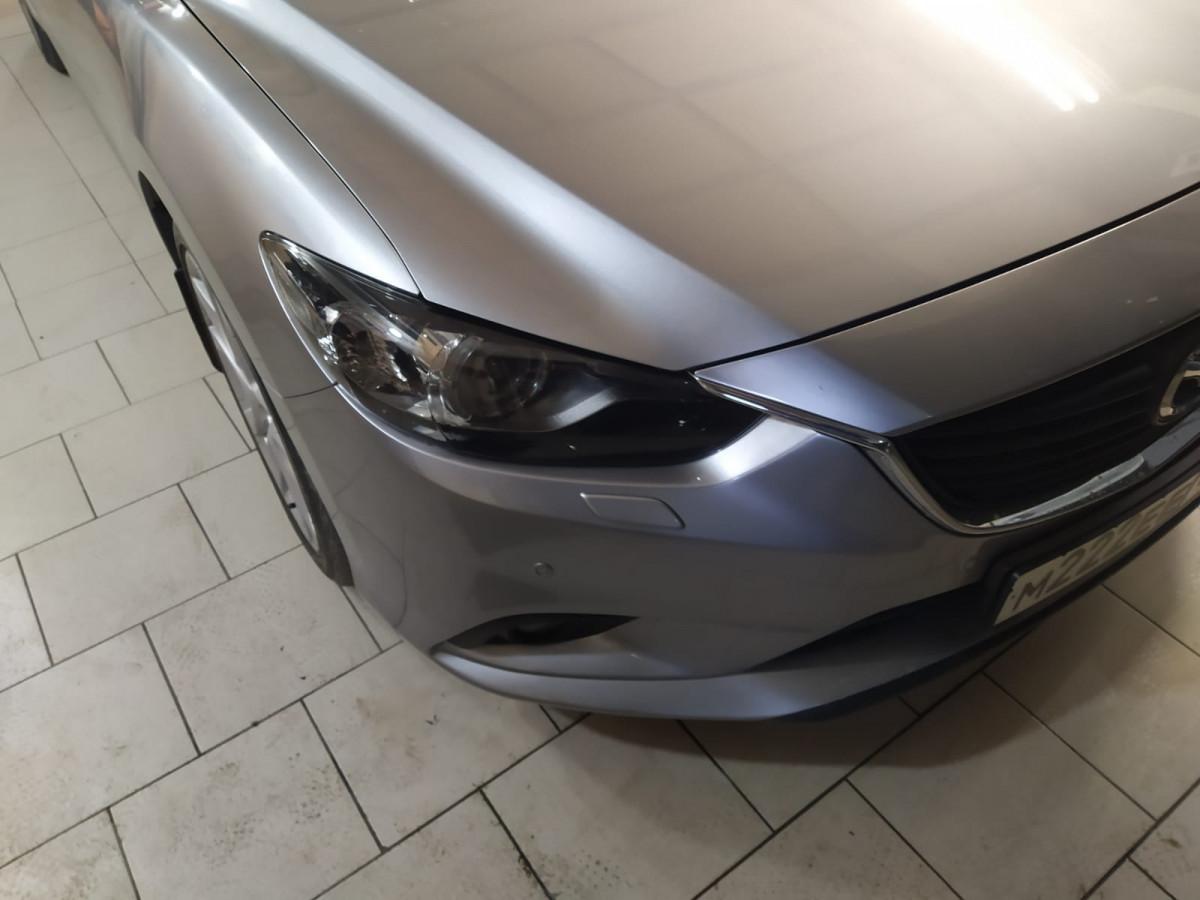 Полировка и обклейка фар Mazda 6