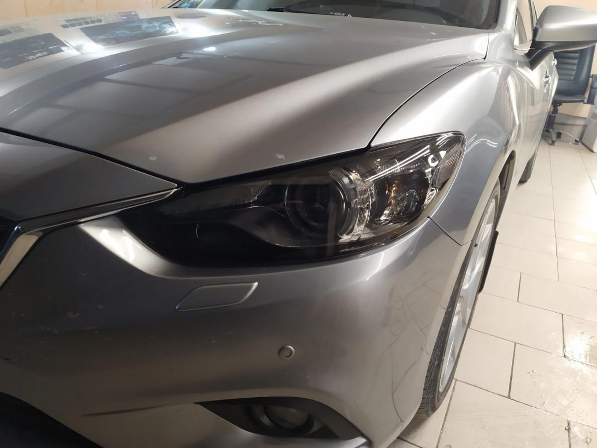 Тонировка и полировка фар Mazda 6