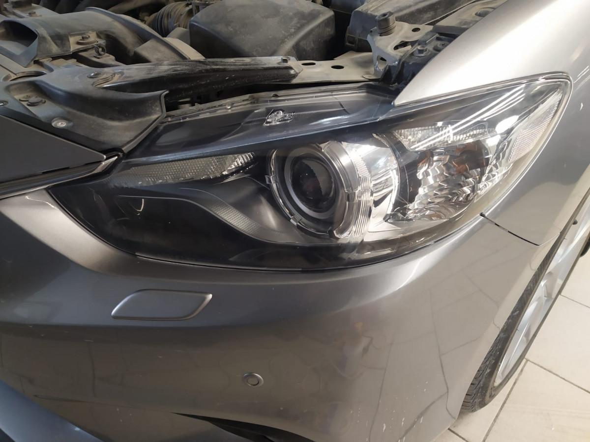 Тонировка фар Mazda 6